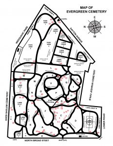 Evergreen-Cemetery-Guided-Tour-Map